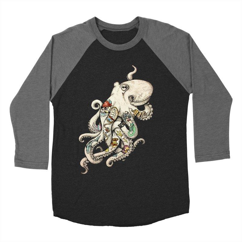 INK'D Men's Baseball Triblend Longsleeve T-Shirt by jojostudio's Artist Shop