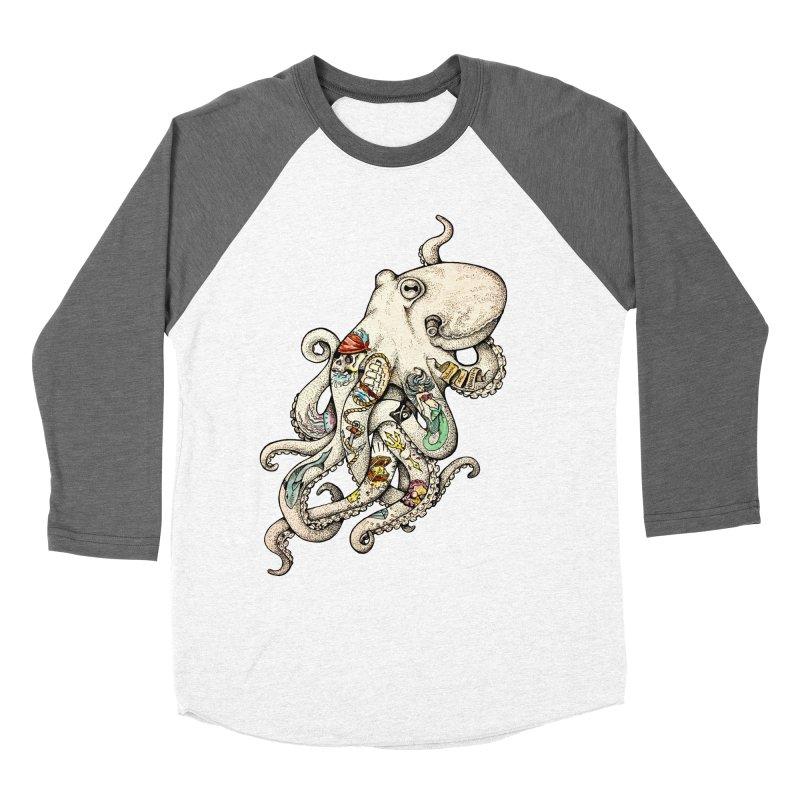 INK'D Men's Baseball Triblend T-Shirt by jojostudio's Artist Shop