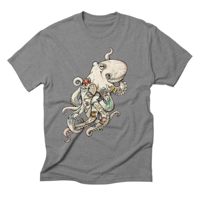 INK'D Men's Triblend T-shirt by jojostudio's Artist Shop