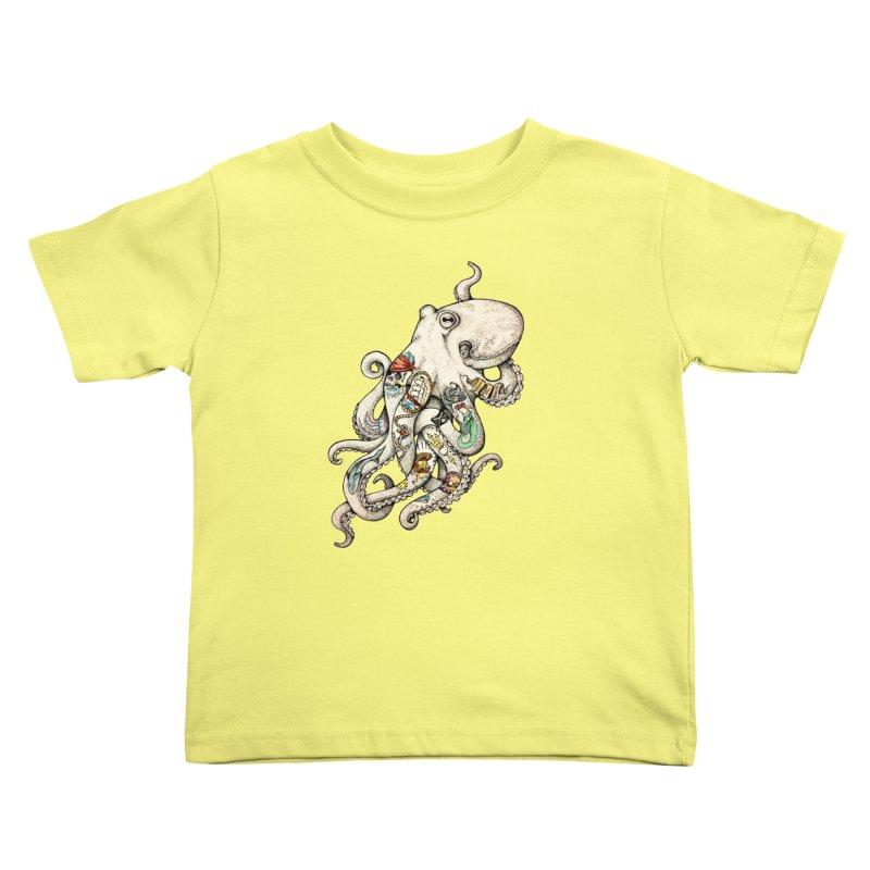 INK'D Kids Toddler T-Shirt by jojostudio's Artist Shop