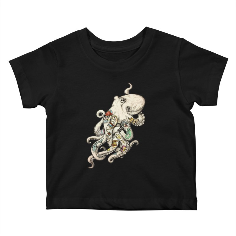 INK'D Kids Baby T-Shirt by jojostudio's Artist Shop