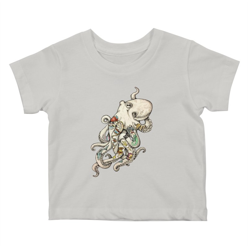 INK'D Kids Baby T-Shirt by jojostudio's Artist Shop