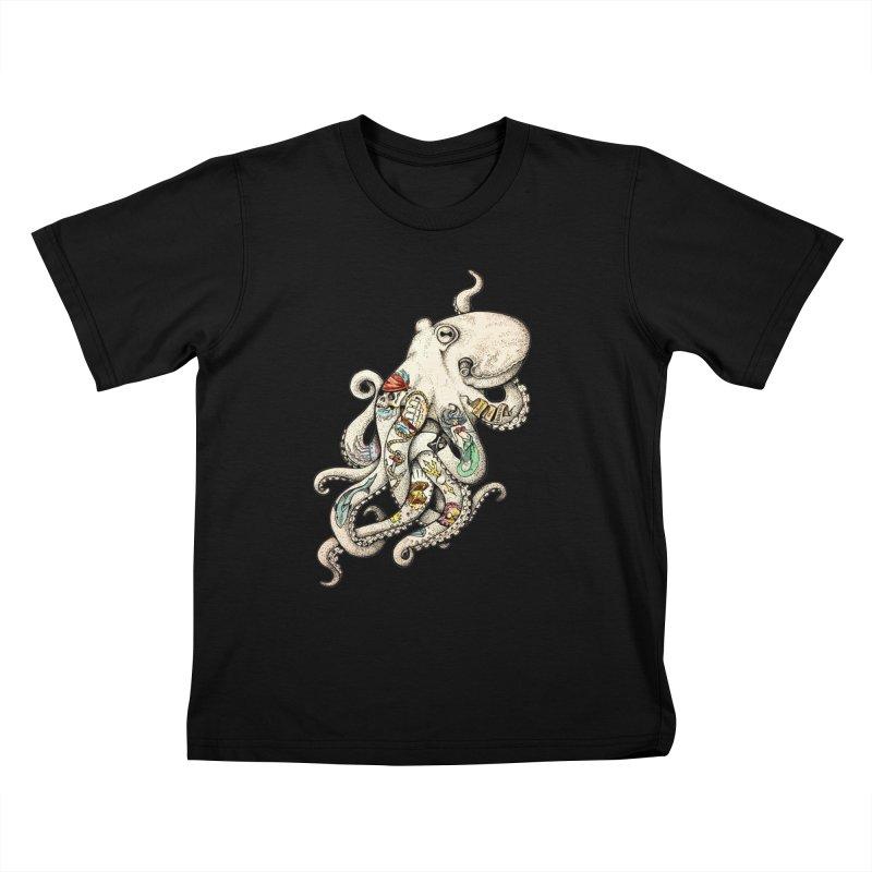 INK'D Kids T-Shirt by jojostudio's Artist Shop