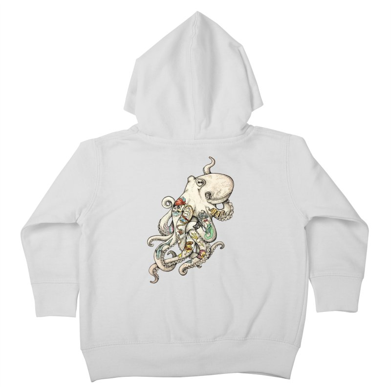 INK'D Kids Toddler Zip-Up Hoody by jojostudio's Artist Shop