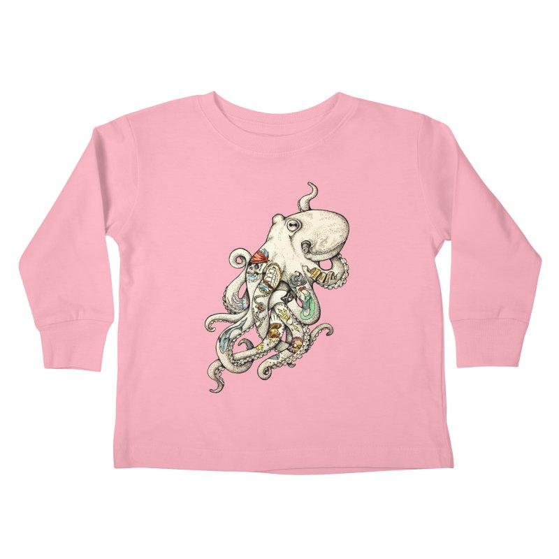 INK'D Kids Toddler Longsleeve T-Shirt by jojostudio's Artist Shop