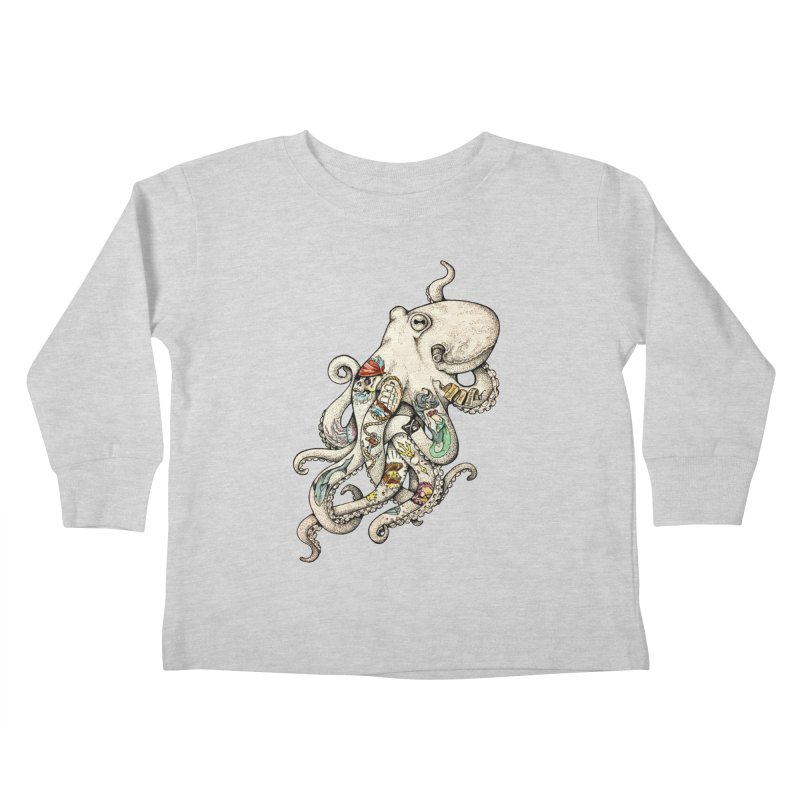 INK'D Kids Toddler Longsleeve T-Shirt by jojostudio's Artist Shop