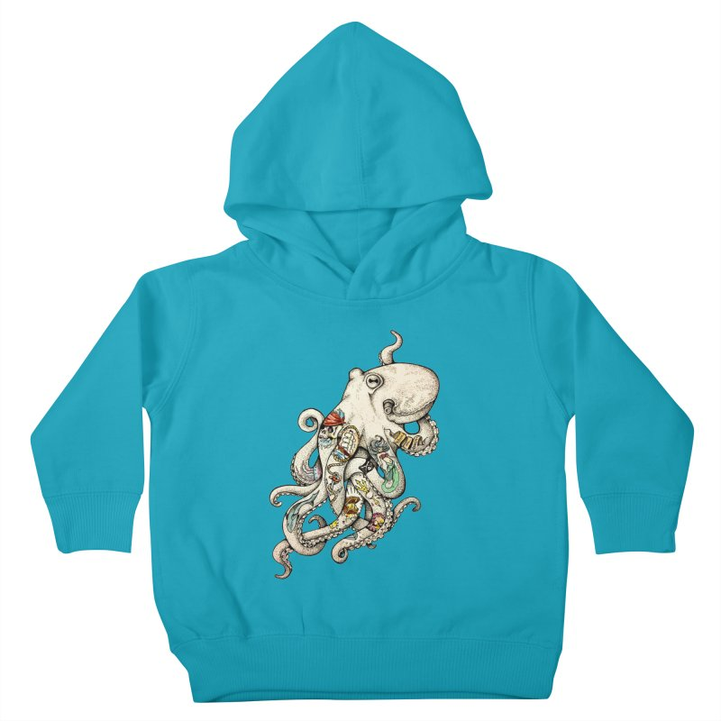 INK'D Kids Toddler Pullover Hoody by jojostudio's Artist Shop