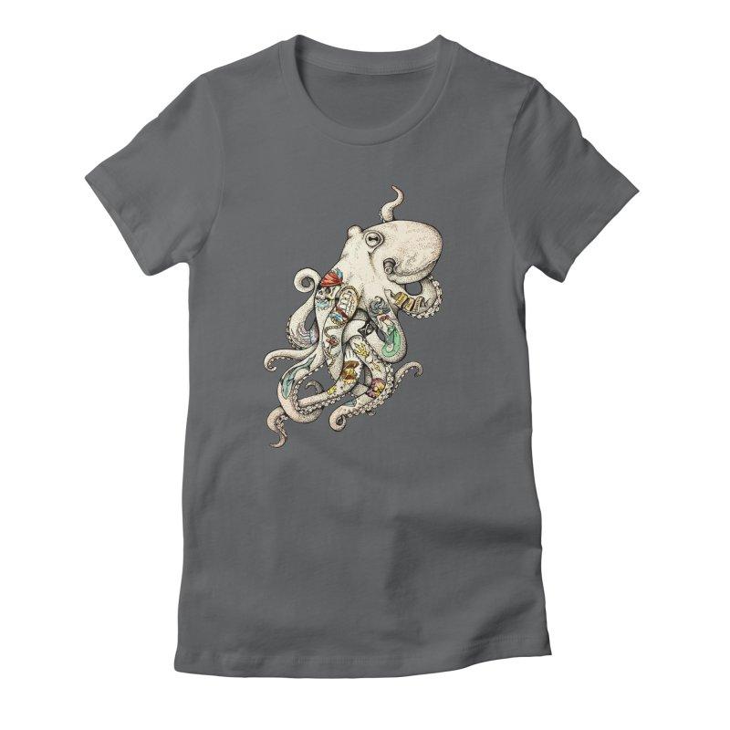 INK'D Women's Fitted T-Shirt by jojostudio's Artist Shop