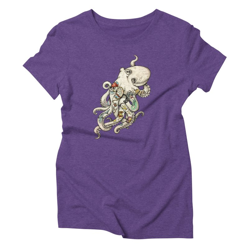 INK'D Women's Triblend T-Shirt by jojostudio's Artist Shop