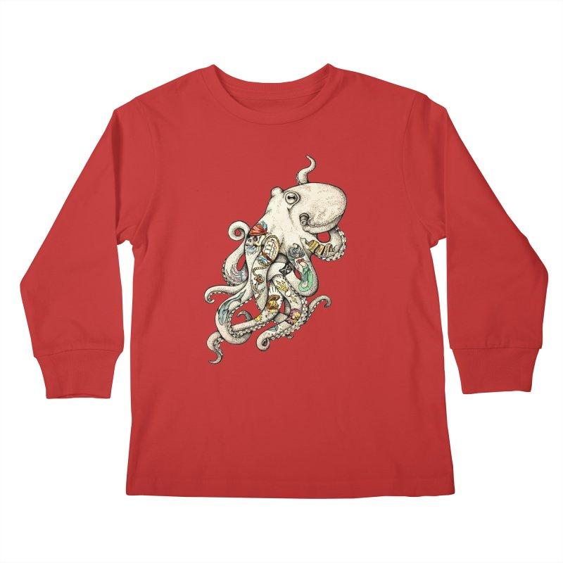 INK'D Kids Longsleeve T-Shirt by jojostudio's Artist Shop