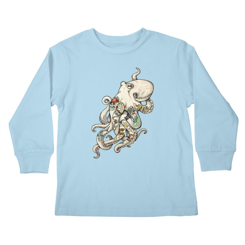 INK'D Kids Longsleeve T-Shirt by jojostudio's Artist Shop