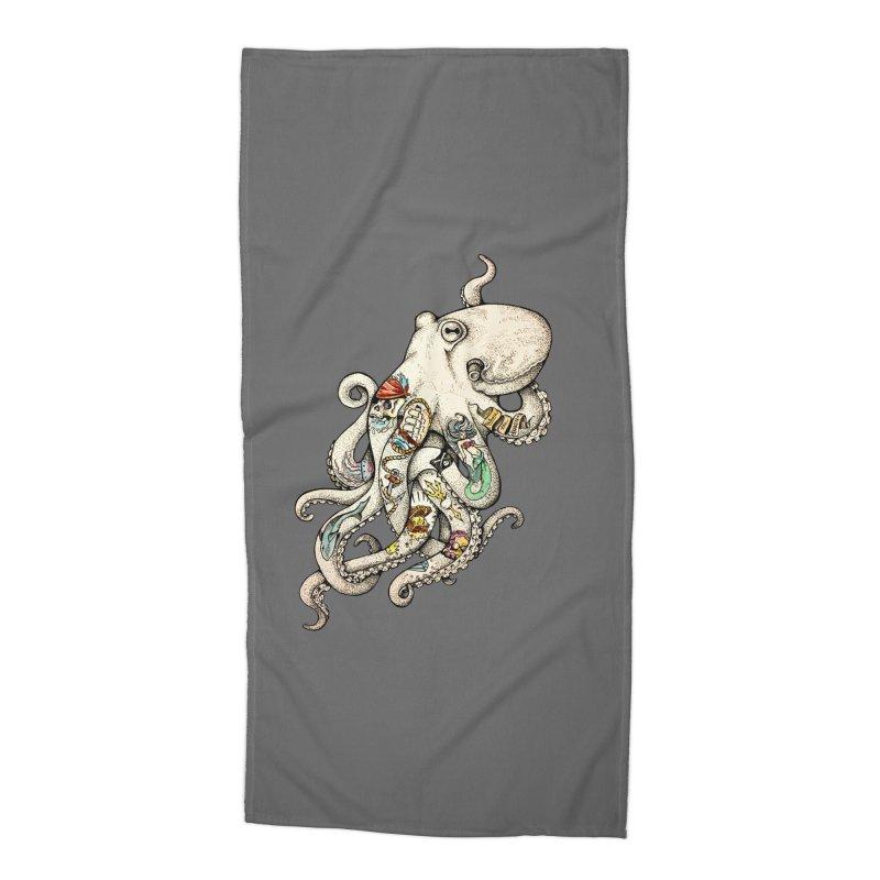 INK'D Accessories Beach Towel by jojostudio's Artist Shop