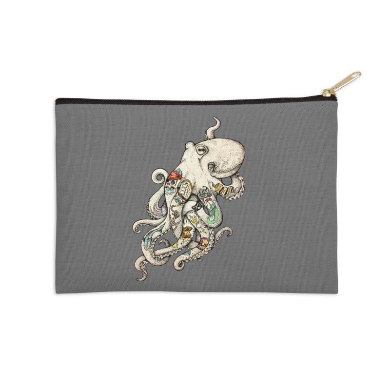 INK'D Accessories Zip Pouch by jojostudio's Artist Shop