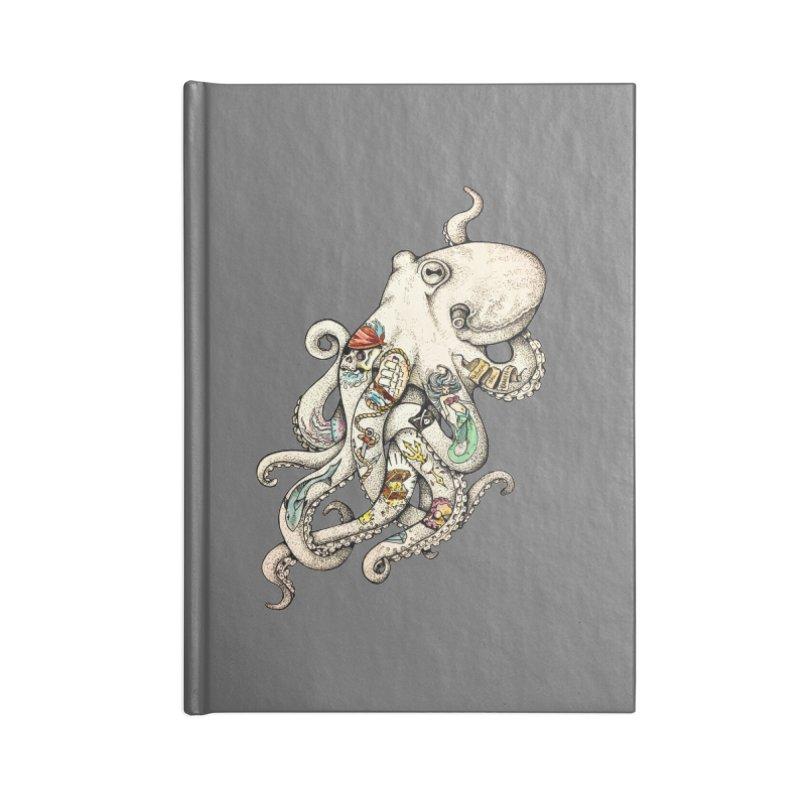 INK'D Accessories Blank Journal Notebook by jojostudio's Artist Shop