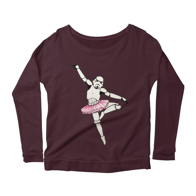 PNK-22 Women's Scoop Neck Longsleeve T-Shirt by jojostudio's Artist Shop