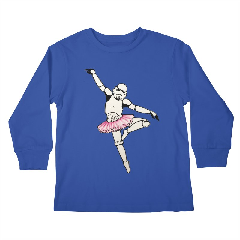PNK-22 Kids Longsleeve T-Shirt by jojostudio's Artist Shop