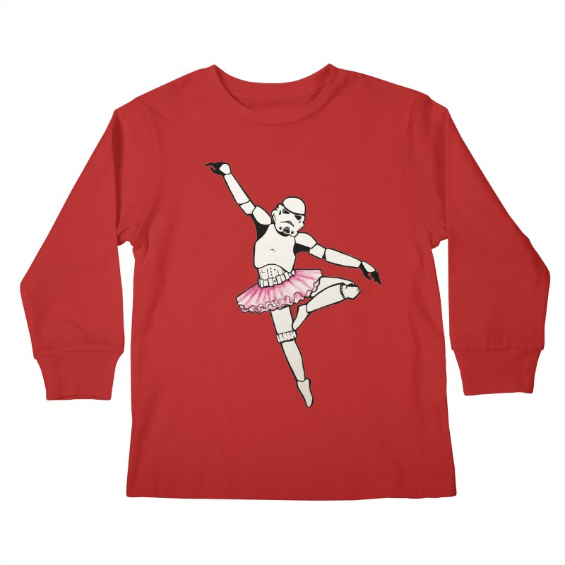 PNK-22 Kids Longsleeve T-Shirt by jojostudio's Artist Shop