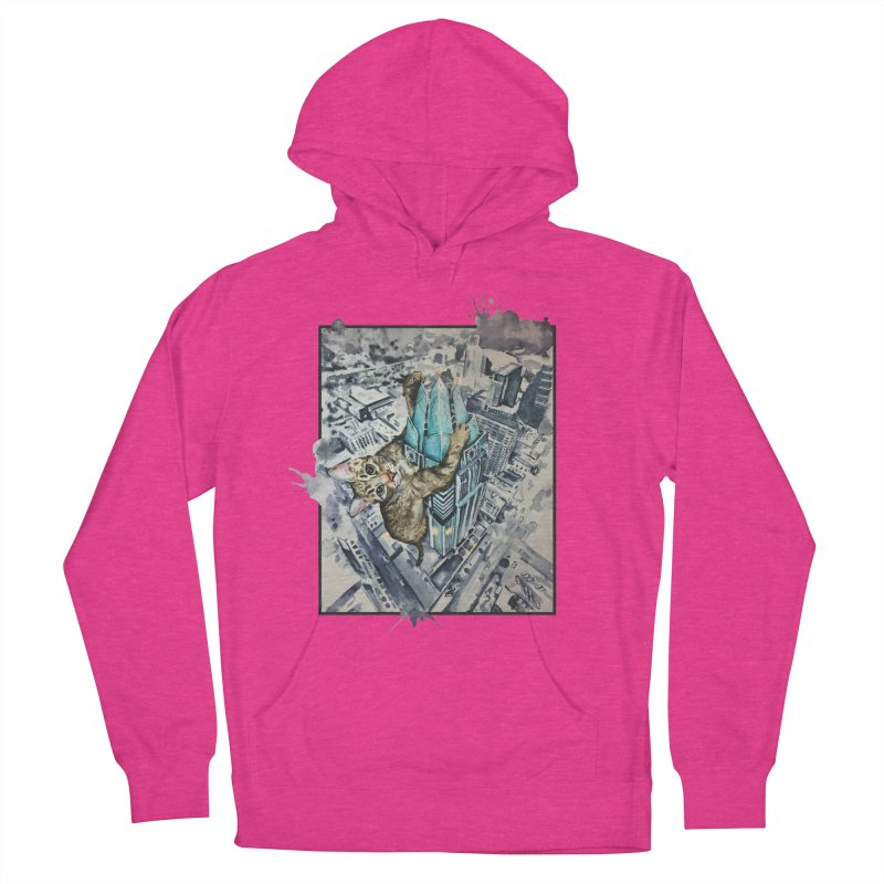 KITTY KONG (ATX) Men's Pullover Hoody by jojostudio's Artist Shop