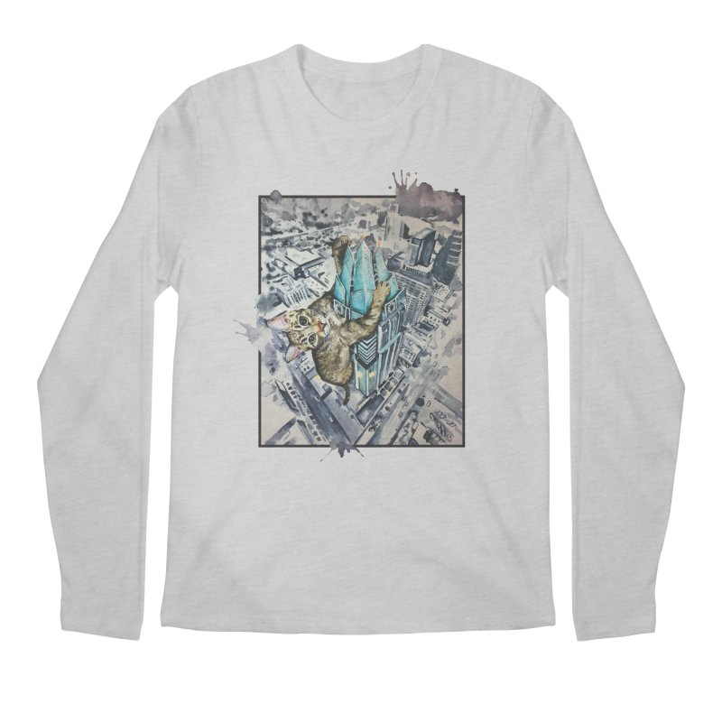 KITTY KONG (ATX) Men's Longsleeve T-Shirt by jojostudio's Artist Shop