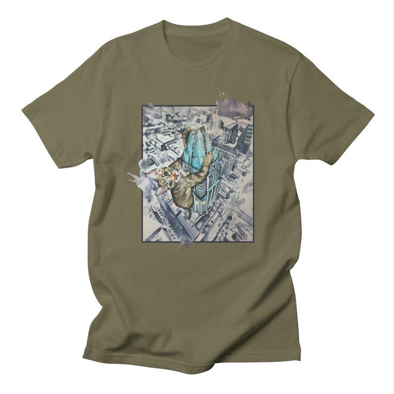 KITTY KONG (ATX) Men's Regular T-Shirt by jojostudio's Artist Shop