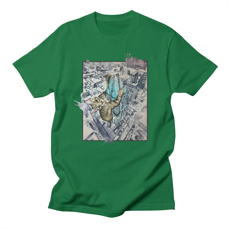 KITTY KONG (ATX) Women's Unisex T-Shirt by jojostudio's Artist Shop