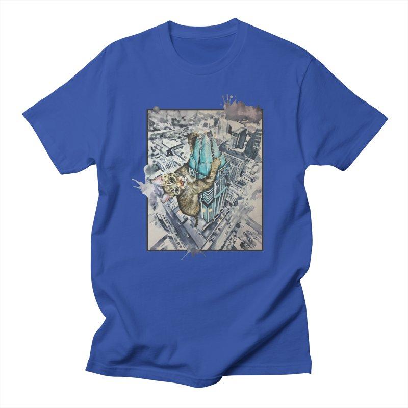 KITTY KONG (ATX) Men's T-Shirt by jojostudio's Artist Shop