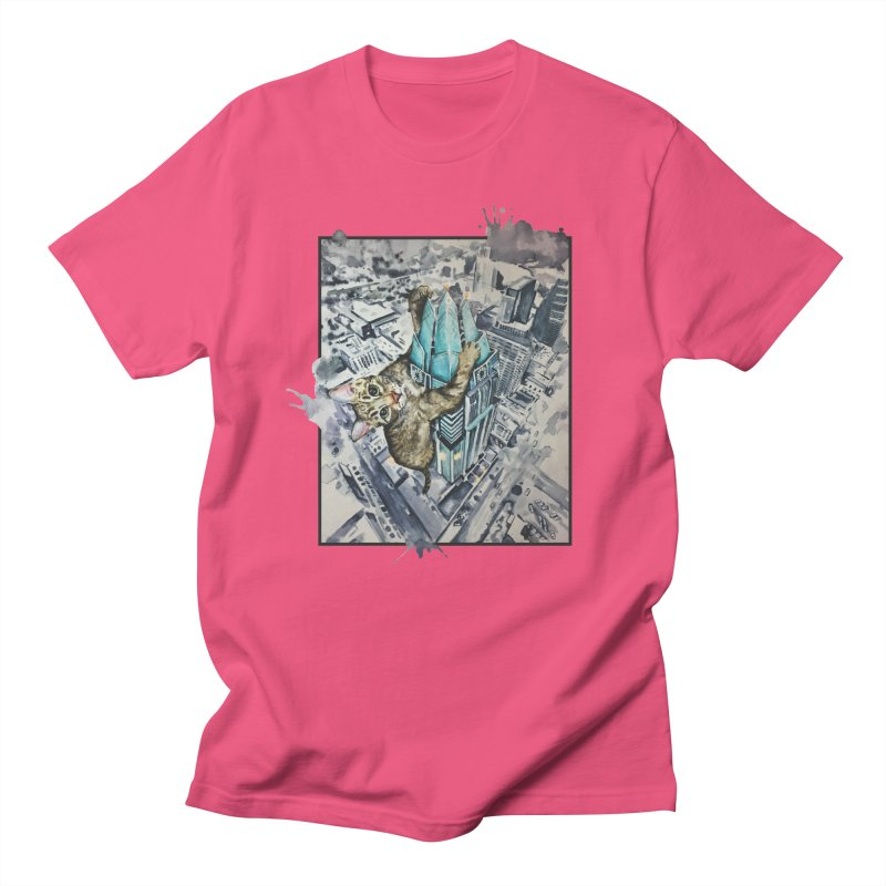 KITTY KONG (ATX) Women's Regular Unisex T-Shirt by jojostudio's Artist Shop