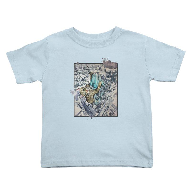 KITTY KONG (ATX) Kids Toddler T-Shirt by jojostudio's Artist Shop