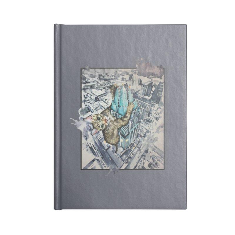 KITTY KONG (ATX) Accessories Blank Journal Notebook by jojostudio's Artist Shop