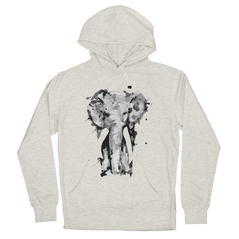 Elephant Women's French Terry Pullover Hoody by jojostudio's Artist Shop