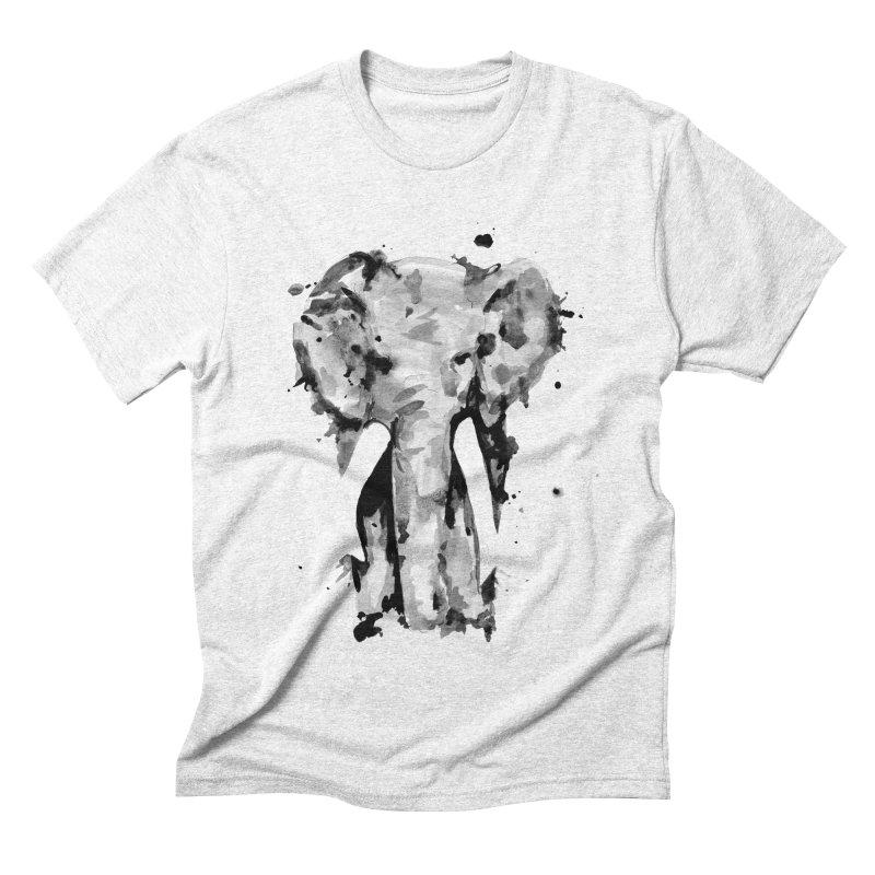 Elephant Men's Triblend T-shirt by jojostudio's Artist Shop