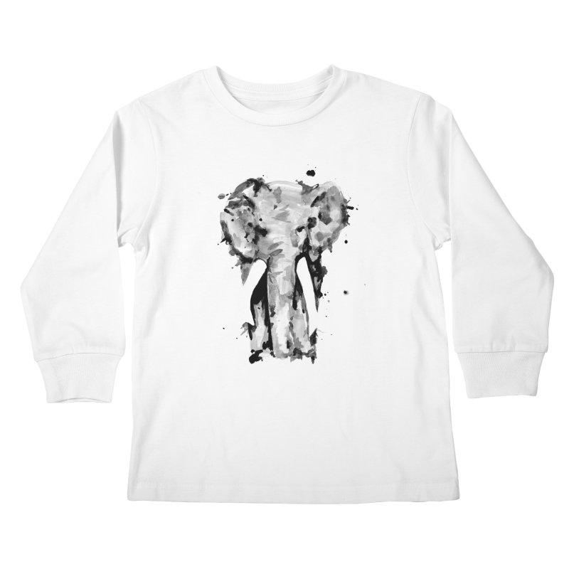 Elephant Kids Longsleeve T-Shirt by jojostudio's Artist Shop