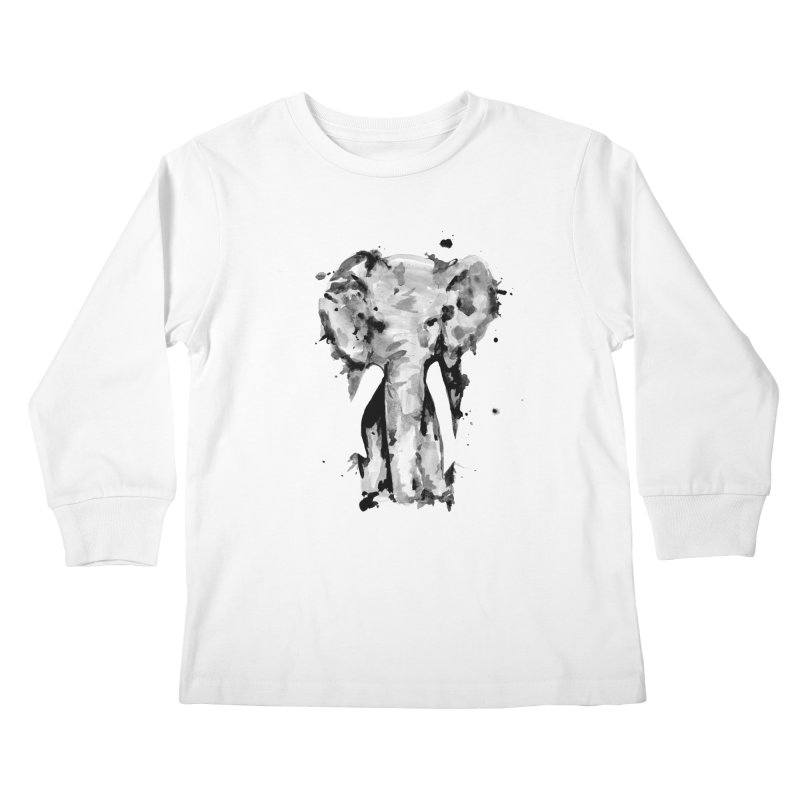 Elephant Kids Longsleeve T-Shirt by jojostudio's Artist Shop
