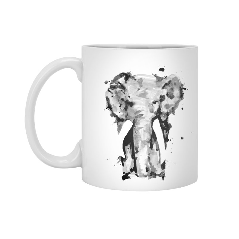Elephant Accessories Mug by jojostudio's Artist Shop