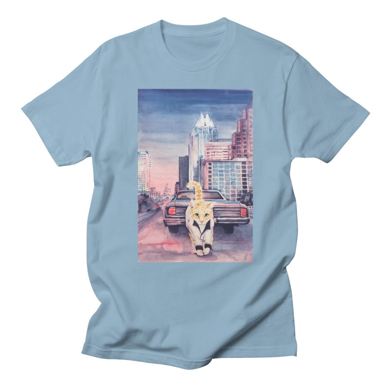 DRIVE (kitty) Men's T-Shirt by jojostudio's Artist Shop