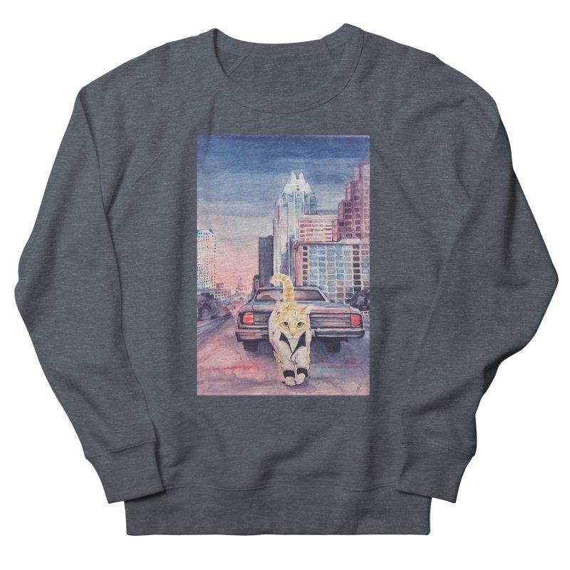 DRIVE (kitty) Women's Sweatshirt by jojostudio's Artist Shop