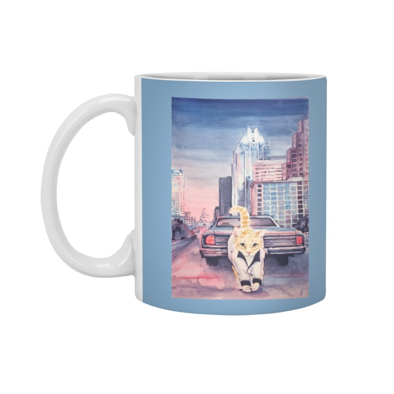 DRIVE (kitty) Accessories Mug by jojostudio's Artist Shop