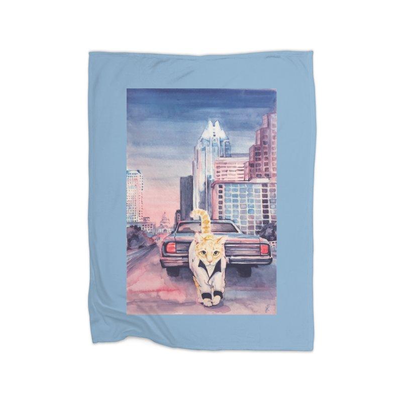 DRIVE (kitty) Home Blanket by jojostudio's Artist Shop