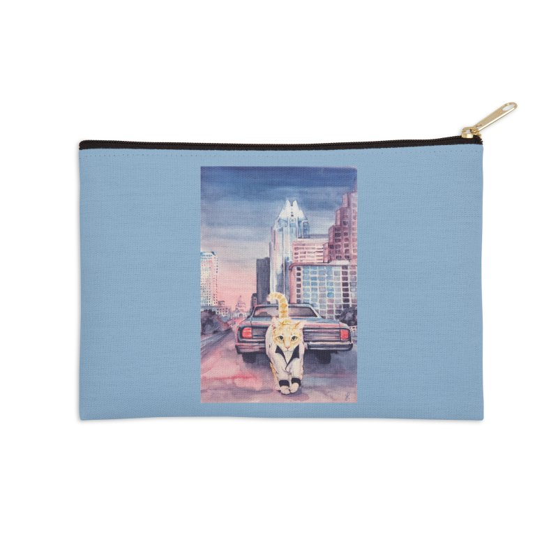 DRIVE (kitty) Accessories Zip Pouch by jojostudio's Artist Shop