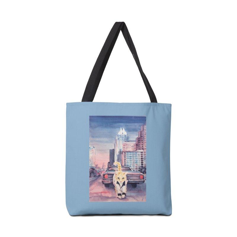 DRIVE (kitty) Accessories Bag by jojostudio's Artist Shop