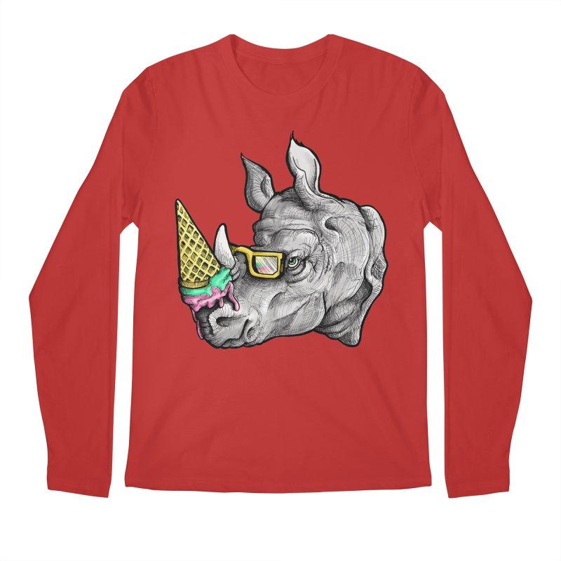 Sweet Savannah Men's Regular Longsleeve T-Shirt by jojostudio's Artist Shop
