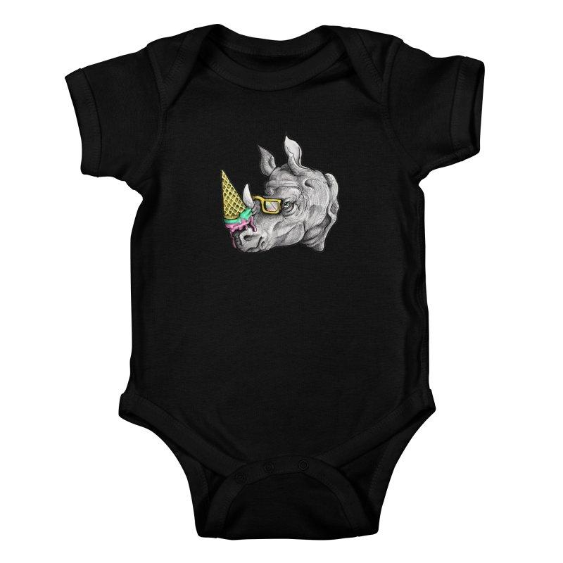 Sweet Savannah Kids Baby Bodysuit by jojostudio's Artist Shop