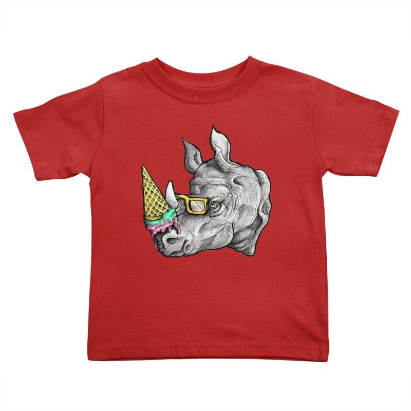 Sweet Savannah Kids Toddler T-Shirt by jojostudio's Artist Shop