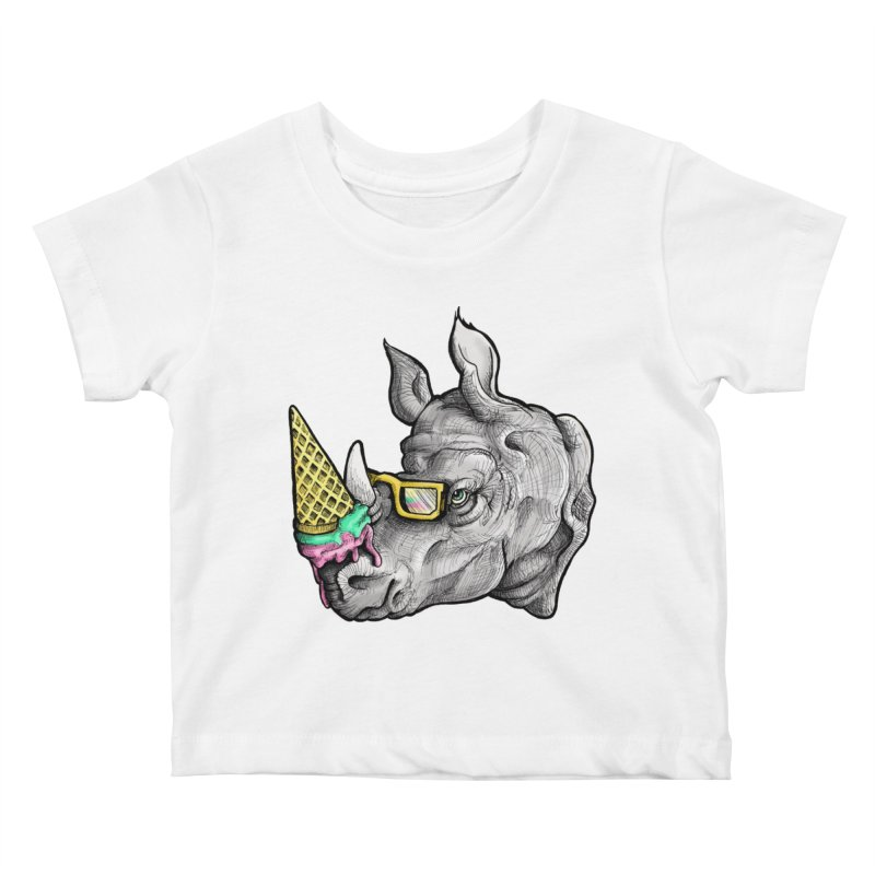 Sweet Savannah Kids Baby T-Shirt by jojostudio's Artist Shop