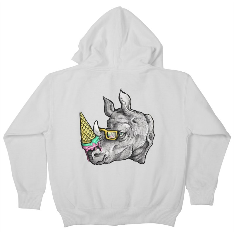 Sweet Savannah Kids Zip-Up Hoody by jojostudio's Artist Shop