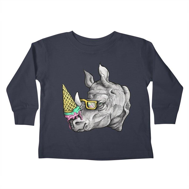 Sweet Savannah Kids Toddler Longsleeve T-Shirt by jojostudio's Artist Shop