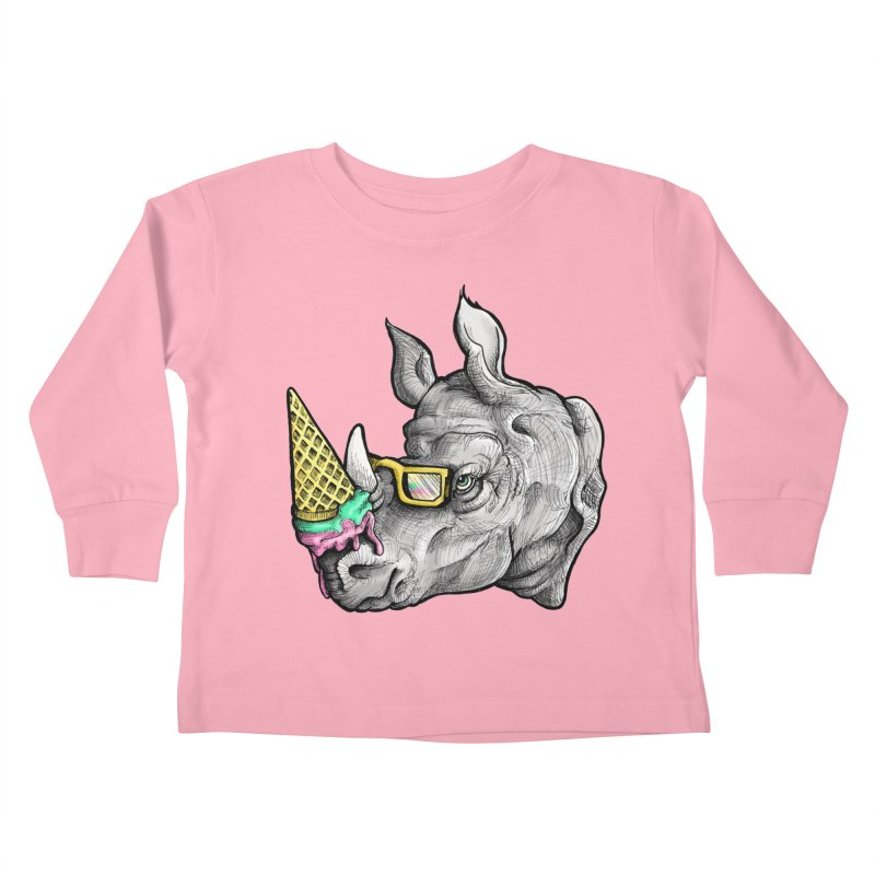 Sweet Savannah Kids Toddler Longsleeve T-Shirt by jojostudio's Artist Shop