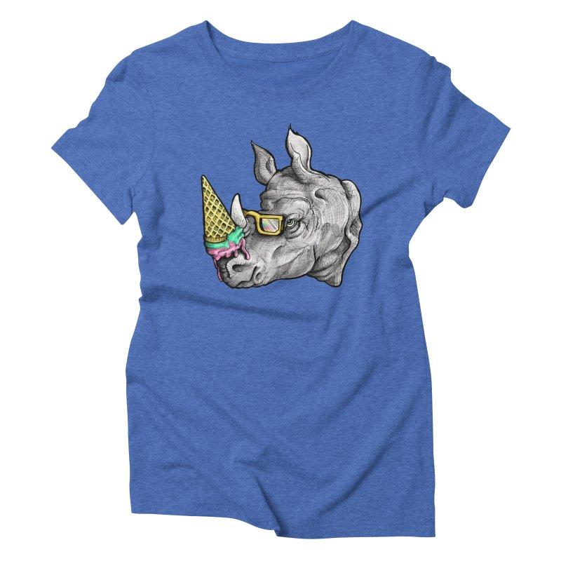 Sweet Savannah Women's Triblend T-Shirt by jojostudio's Artist Shop