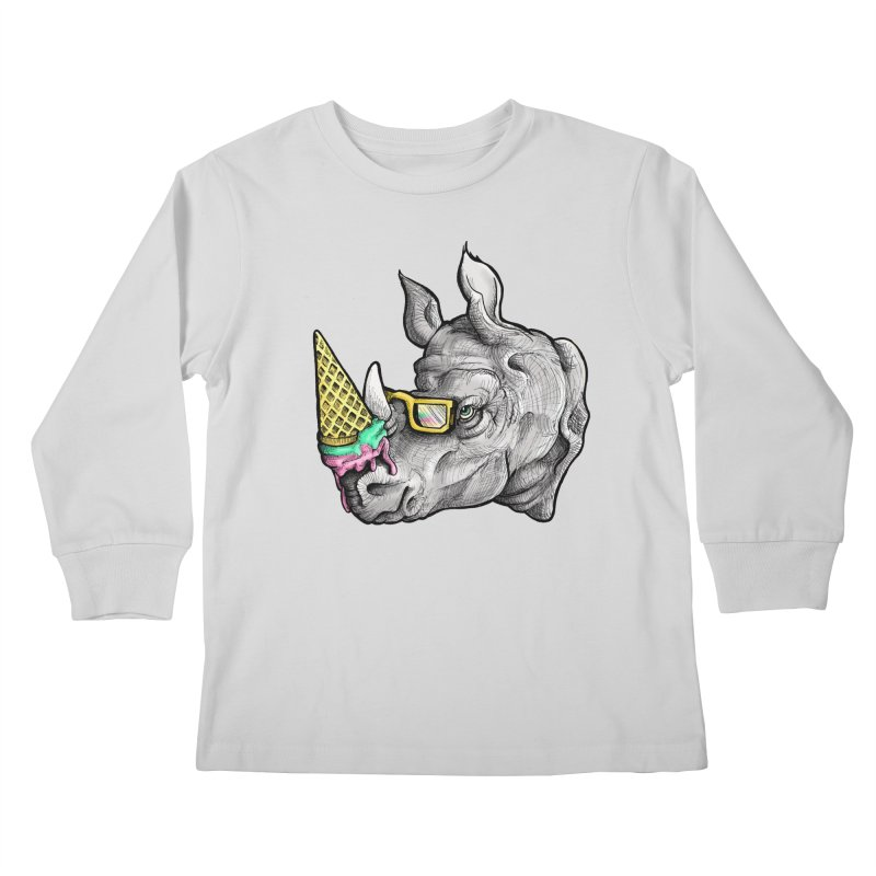 Sweet Savannah Kids Longsleeve T-Shirt by jojostudio's Artist Shop