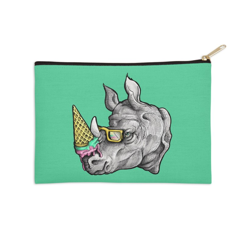 Sweet Savannah Accessories Zip Pouch by jojostudio's Artist Shop